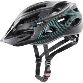 UVEX Onyx CC Casque, black teal mat